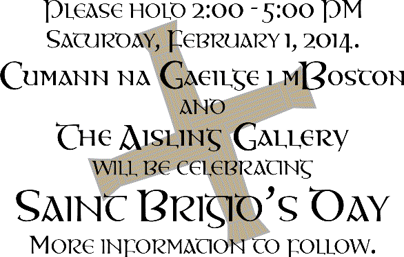 St. Brigid's Day Celebration 2014